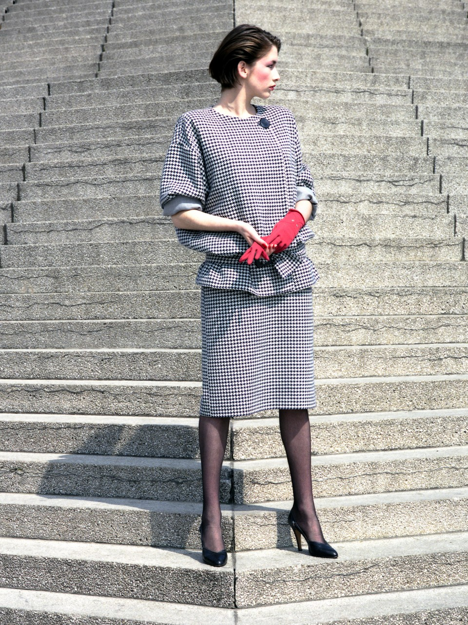 Uta Rath, Sybille-Model, Ost-Berlin, 1984 - Bild 3